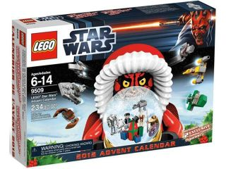 Lego Star Wars Advent Calendar #9509