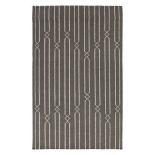 Surya FT 367 Flat Weave Area Rug   Moss / Ash Gray