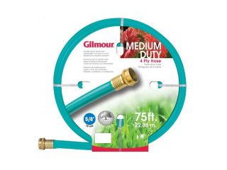 "Gilmour 5/8"" x 75'  4 Ply Medium Duty Garden Hose"
