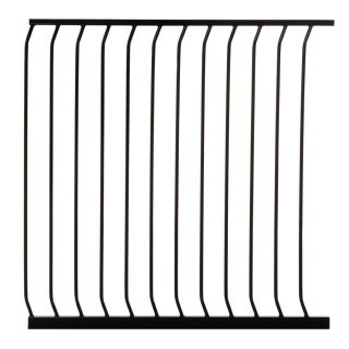 Dreambaby Chelsea Tall Auto Close 39 in x 39.5 in Black Metal Child Safety Gate