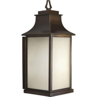 Progress Lighting Salute Collection Oil Rubbed Bronze 1 light Wall Lantern P5955 108