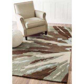 nuLOOM Handmade Norwegian Radiance Brown Rug (5 x 8)