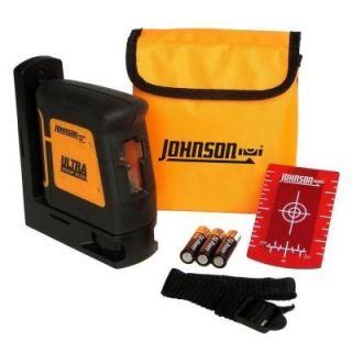 Johnson Self Leveling High Powered Cross Line Laser Level 40 6625