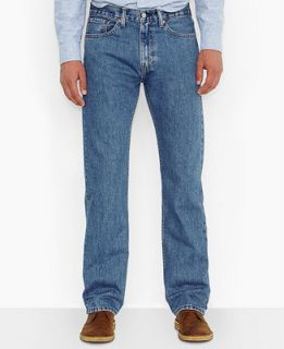 Levis Mens Big and Tall 505 Original Fit Medium Stonewash Jeans