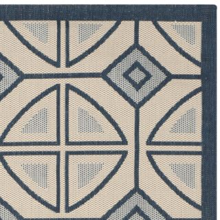 Safavieh Courtyard Beige Indoor/Outdoor Rug