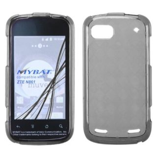 INSTEN Smoke Argyle Pane Candy Skin Phone Case Cover for ZTE N861 Warp
