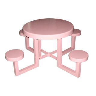 Kids Round Picnic Table