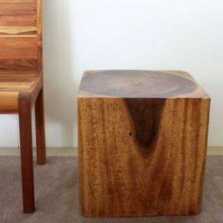Strata Furniture Cube End Table   End Tables
