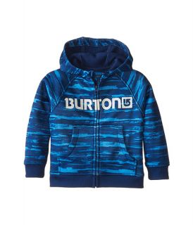 Burton Kids Mini Bonded Hoodie (Toddler/Little Kids) Sloppy Stripe
