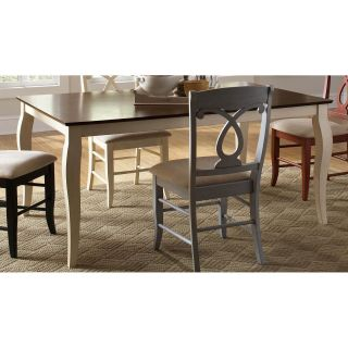Coaster Furniture 103821 Holland Two Tone Rectangular Dining Table with Cabriole Leg