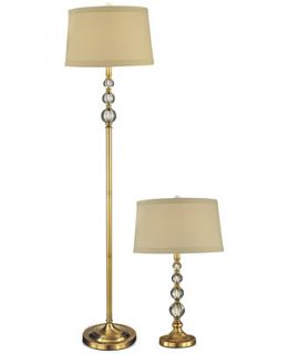 Dale Tiffany Antique Optic Orb Lamp Set   Lighting & Lamps   For The