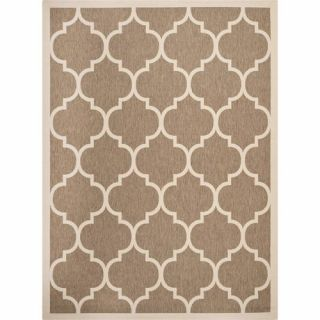 Safavieh Courtyard Brown/Bone Outdoor Rug