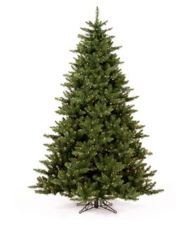 Pre lit Clear Light 7.5 ft. Camdon Fir Tree   Christmas Trees