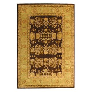 Safavieh Bergama BRG190B Area Rug   Brown/Green   Area Rugs