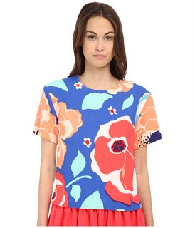 Kate Spade New York Multi Floral Ramona Top
