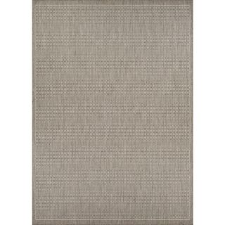 Couristan Recife Saddle Stitch Champagne/ Taupe (39 x 55)   18977121