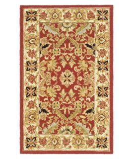 Safavieh Chelsea HK157A Area Rug   Red/Ivory   Area Rugs