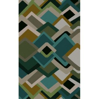 Envelopes Geometric Area Rug