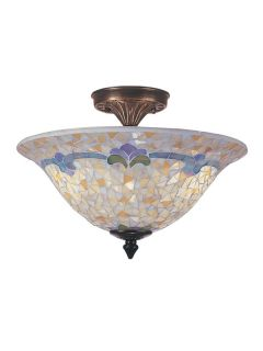 Dale Tiffany TM100553 Antique Brass Ceiling Light